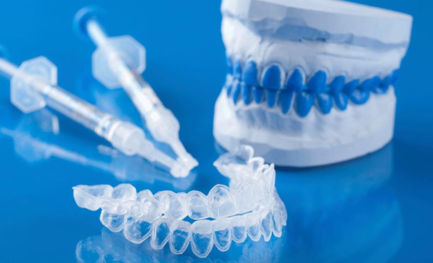 каппа для домашнего отбеливания зубов